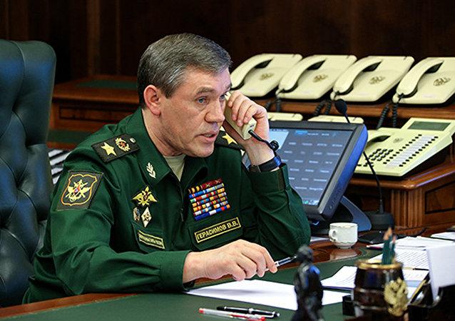 俄美总参谋长谈俄空天部队与以美为首的空军联军的合作