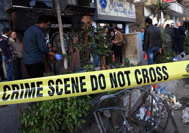媒体:开罗爆炸事件嫌疑人被捕