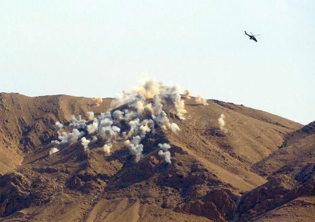 叙利亚恐怖分子正在试图离开其阵地