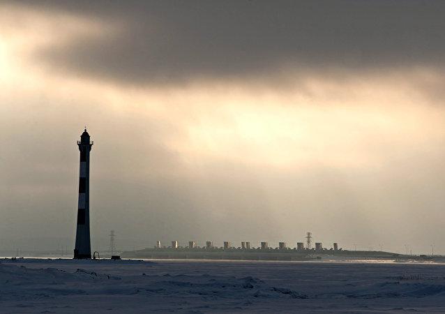圣彼得堡大坝闸门因水灾威胁关闭