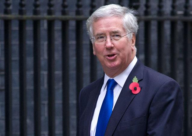 """英国防大臣:不会与""""伊斯兰国""""谈判 在叙行动将长期而艰巨"""