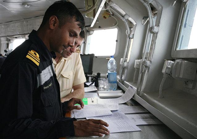 """""""Indra Navy""""的国际军演/资料图片/"""