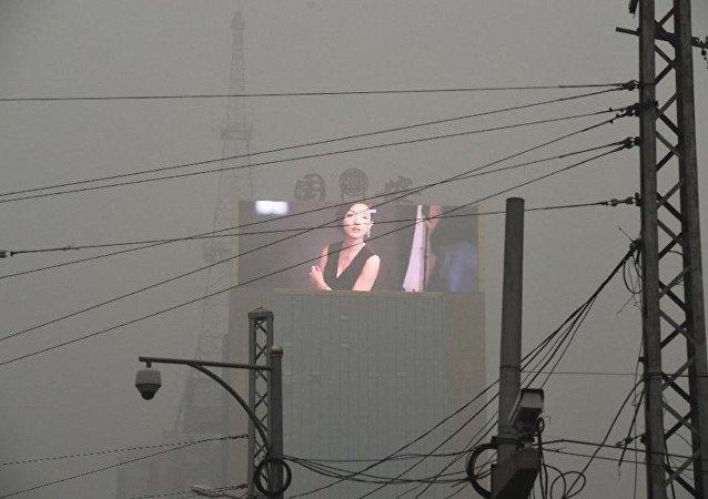 中国承诺到2022年之前消除空气污染