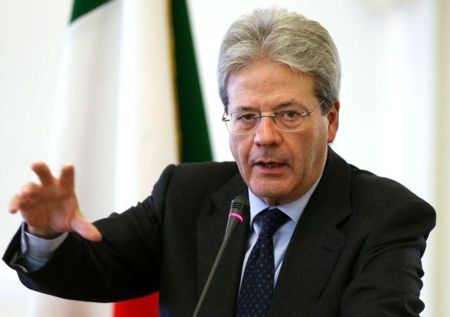 意大利总理真蒂洛尼