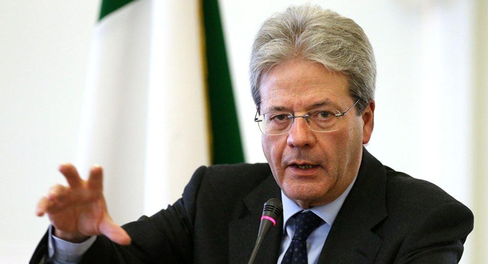 意大利总理保罗•真蒂洛尼