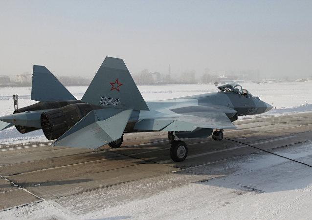 俄国防部:俄第五代战机飞行试验接近尾声