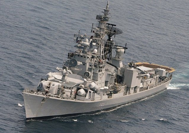 印度海军:因陀罗-2015演习将加强俄印海军联系