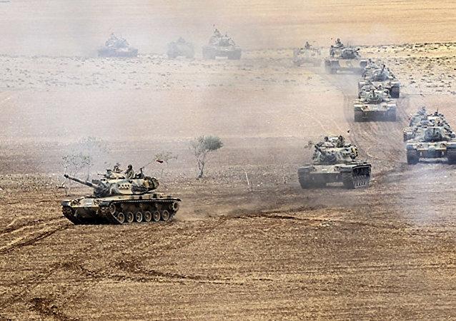 俄外交部:土叙边境武器走私加剧
