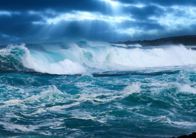 预警中心称沿岸强震或引发海啸