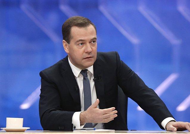 """俄总理将在老挝讨论打击""""伊斯兰国""""  朝鲜半岛和经济局势"""