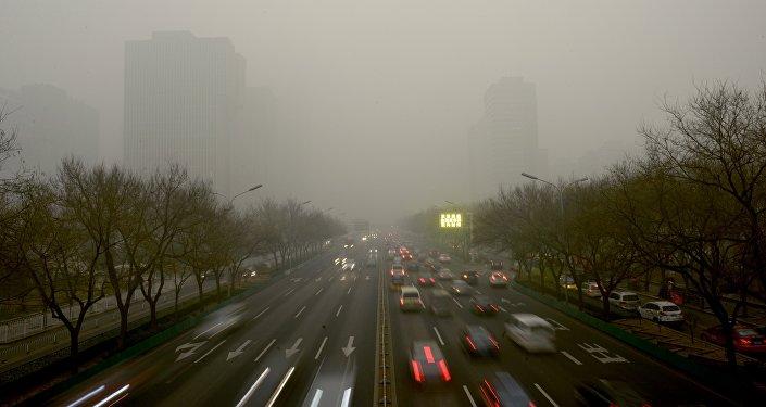 中國中央氣象台: 中國冀豫魯等地將在空氣重污染中跨入新年