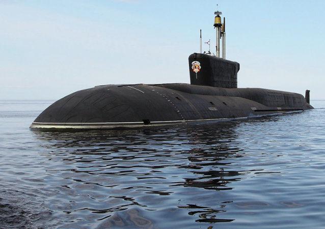 """""""弗拉基米尔•莫诺马赫""""号核潜艇, 俄罗斯"""