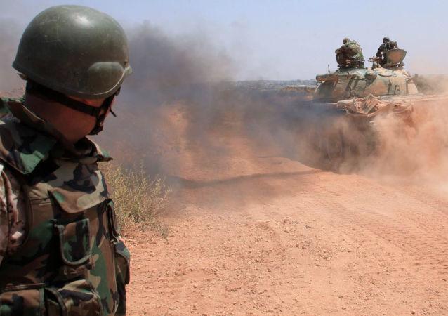 """叙最高谈判委欢迎土打击""""伊国""""反对外国军队在叙驻留"""