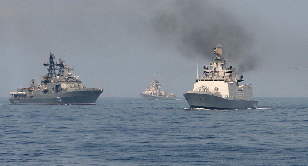 巴基斯坦邀请俄罗斯参加联合海军演习