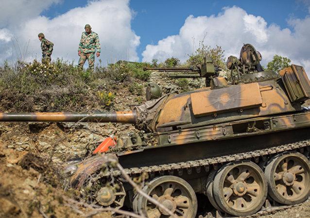 叙利亚政府军逼近被伊斯兰分子占领的叙土边境城市克萨卜/资料图片/