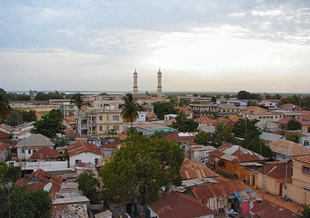 冈比亚首都班竹