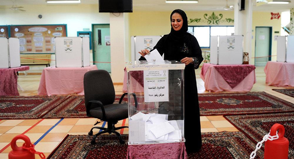 沙特女性候選人首次在市政選舉中贏得20個席位