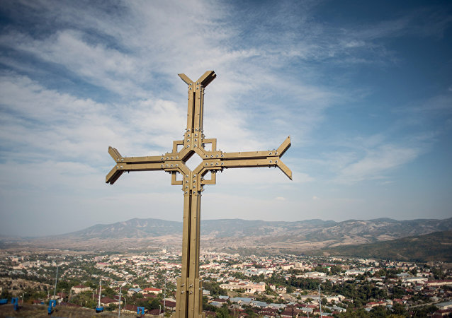 不受国际承认的纳戈尔诺-卡拉巴赫共和国首都斯捷潘纳克特