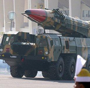 巴基斯坦军队首次发射能够携带核弹头的巡航导弹