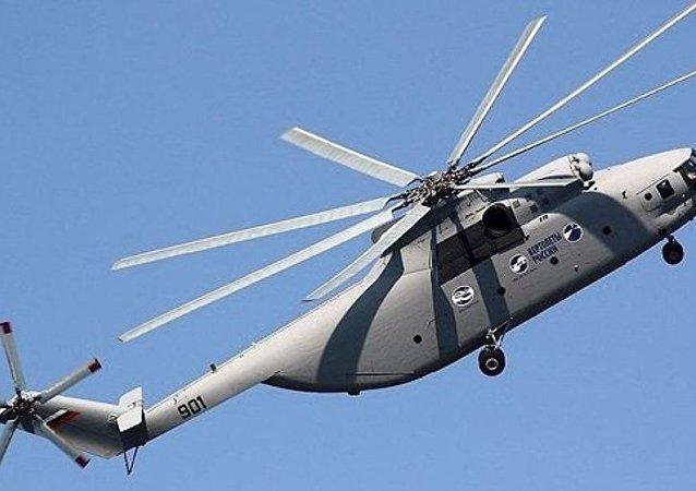 俄罗斯直升机公司有意向中国供应米-171和米-26T2直升机