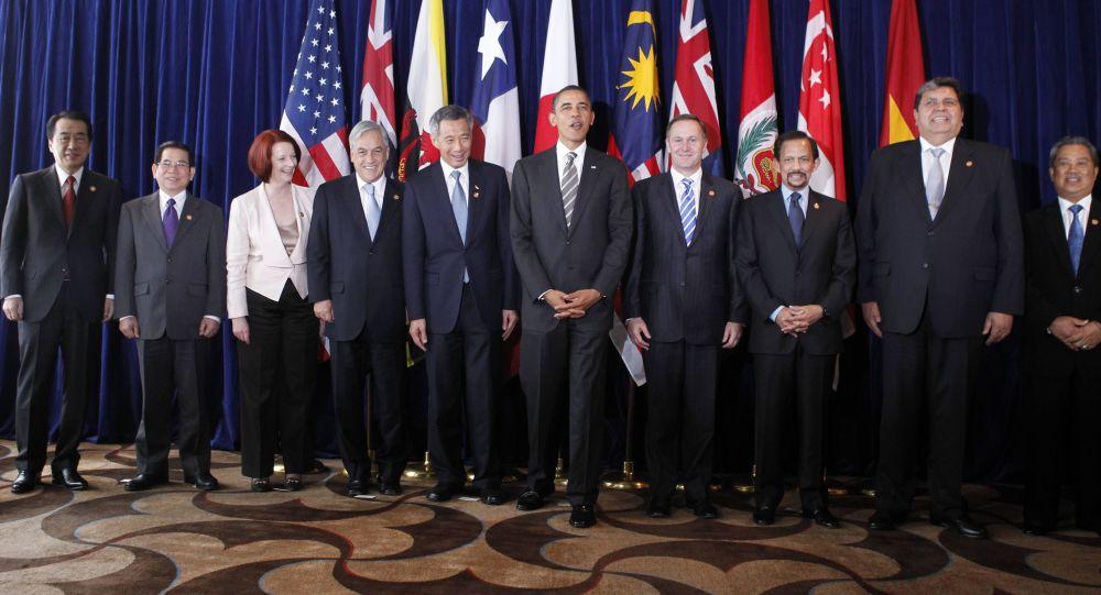 美国决定从《跨太平洋伙伴关系协定》中最终退出