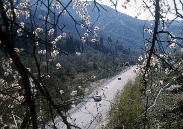 哈萨克斯坦的公路