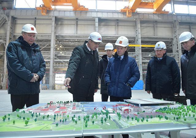 俄总理要求完成星星造船厂三期工程的全部建设任务