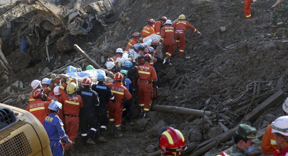 习近平对深圳山体滑坡救援工作作出指示 要求尽力减少人员伤亡