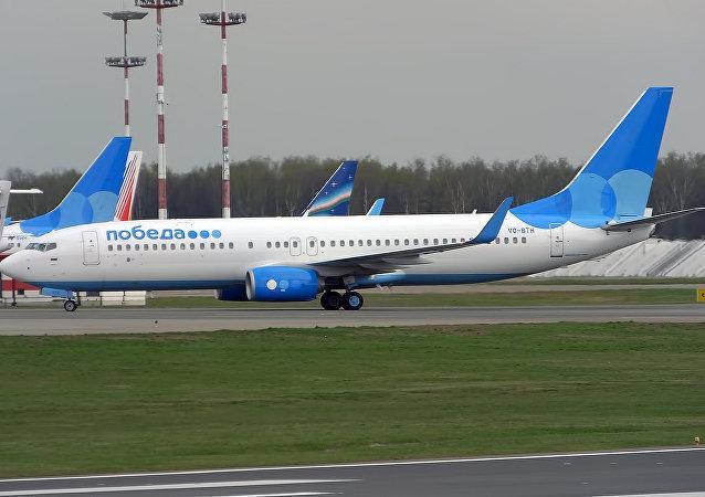 "Boeing 737-800 (""胜利"" 低成本航公司)"