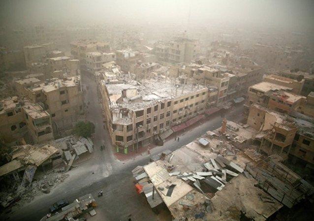 德媒:武装分子离开大马士革是普京的功劳