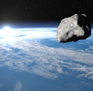意大利宇航员从国际空间站拍到一颗流星坠落