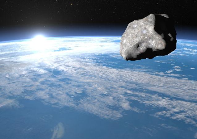 小行星掠过地球  体积较大具有潜在危险
