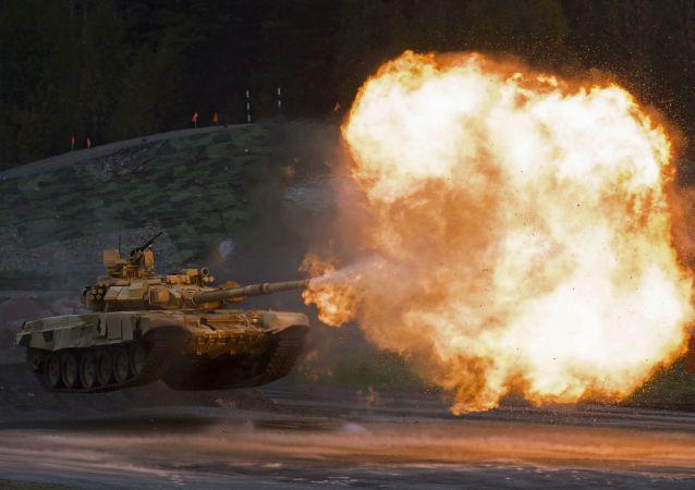 俄罗斯正研制口径125毫米未来坦克制导炮弹