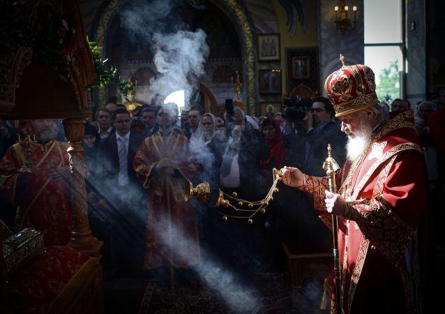 莫斯科及全俄宗主教基里尔和罗马教皇