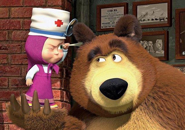 《玛莎与熊》品牌俄罗斯商品将进入中国市场