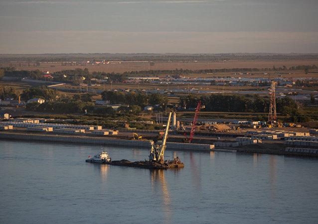 布拉戈维申斯克港口
