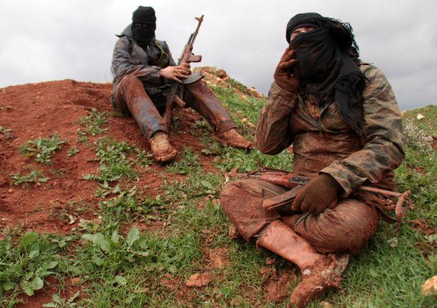 叙利亚北部武装分子
