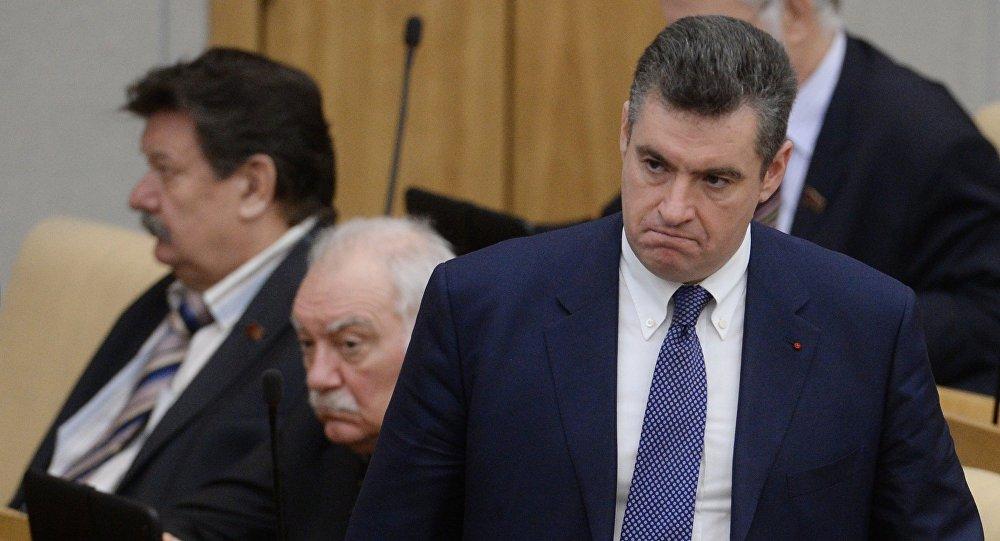 俄羅斯國家杜馬的獨聯體、歐亞一體化及同胞聯絡事務委員會主席斯魯茨基