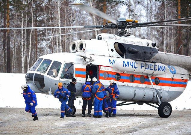 俄罗斯紧急情况部演习