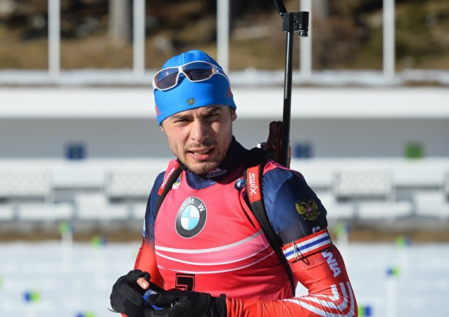 两项滑雪运动员安东•舒普林