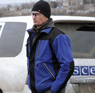英国公民在欧安组织驻乌克兰特别监督团车辆爆炸事件中死亡