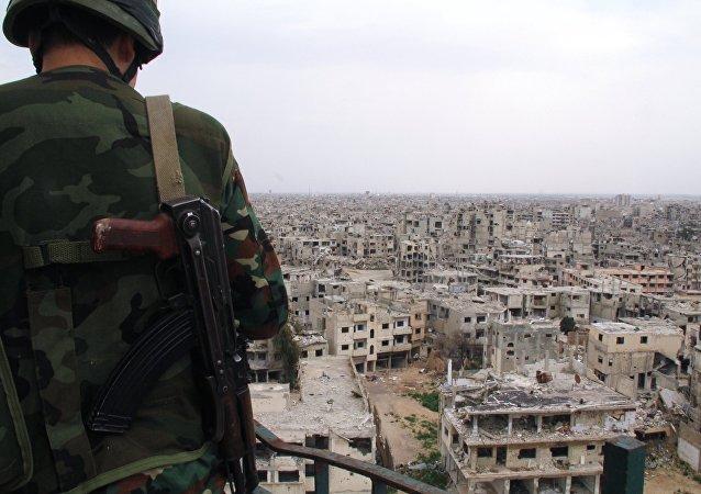 俄总统新闻秘书谈及有关叙利亚谈判:还剩下商讨反对派代表名单的问题