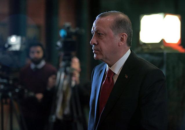 土耳其总统称未遂政变受到西方支持