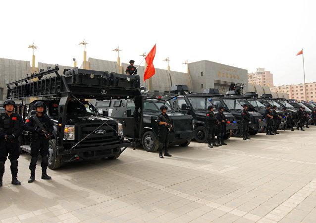 中国将派数千海军陆战队员赴新疆冬训