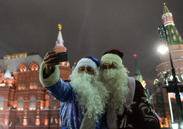莫斯科庆祝新年