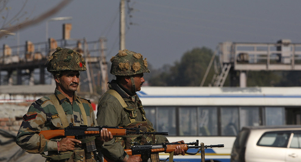 印度国家安全卫队的士兵