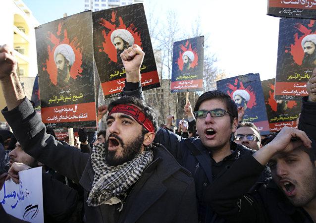 沙特驻伊朗外交使团受到袭击