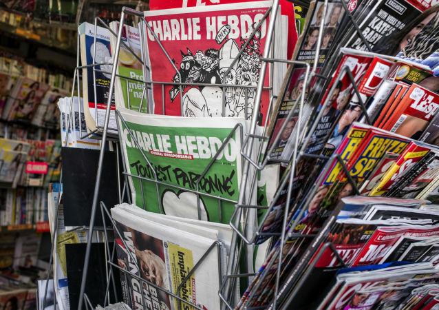 普京与特朗普成为最新一期《查理周刊》的主角