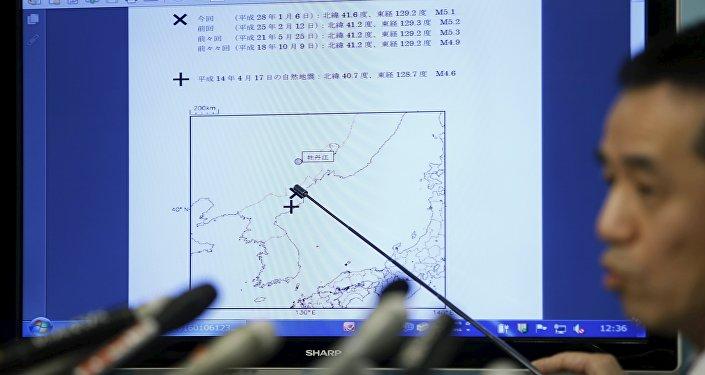 日本地震学家称此次朝鲜地震的威力是以前的10倍