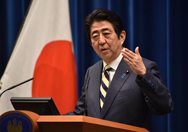 日本政府等待国会批准首相访俄计划